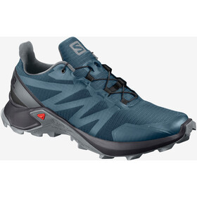 Salomon Supercross Zapatillas Mujer, mallard blue/black/monument